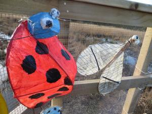 Ladybird and Fly © Philip James Taylor